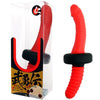 Warrior Double Ended Silicone Plug-Red - Godfather Adult Sex and Pleasure Toys