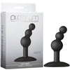 Platinum Premium Silicone - The Mini's Bubble Medium - Black - Godfather Adult Sex and Pleasure Toys