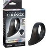 Fantasy C-Ringz Silicone Taint-Alizer Black - Godfather Adult Sex and Pleasure Toys