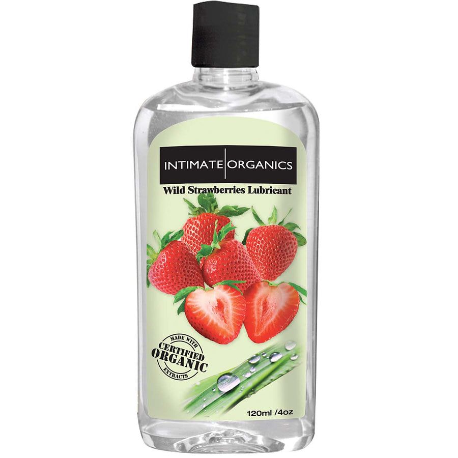 Intimate Organics Wild Strawberries Warming Glide 120ml
