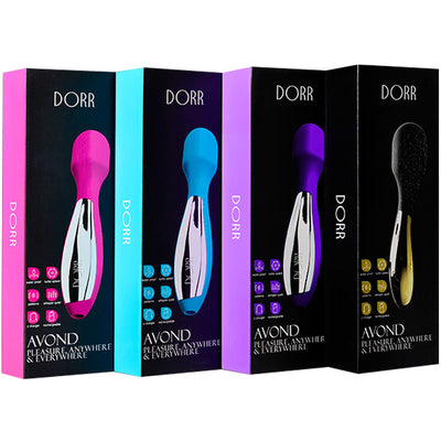 Dorr Avond Travel Size Massager - Purple - Godfather Adult Sex and Pleasure Toys