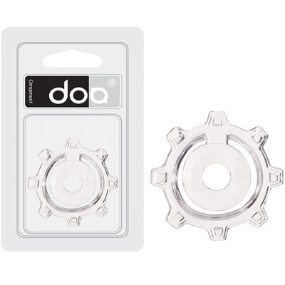 Doo Cog Cock and Balls Rings  - Clear - Godfather Adult Sex and Pleasure Toys