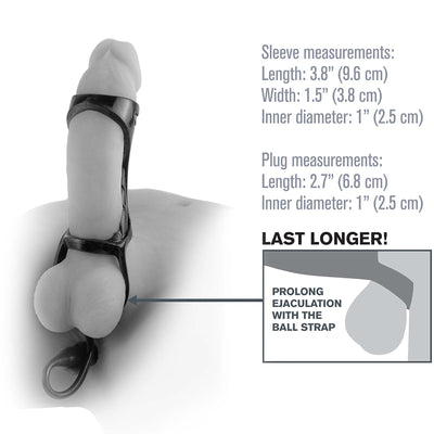 Fantasy X-tensions Extreme Enhancer with Anal Plug - Godfather Adult Sex and Pleasure Toys
