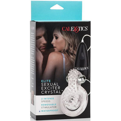 Elite Sexual Exciter-Crystal - Godfather Adult Sex and Pleasure Toys