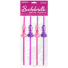 Bachelorette Party Bendable Dicky Straws 4 Pack - Godfather Adult Sex and Pleasure Toys