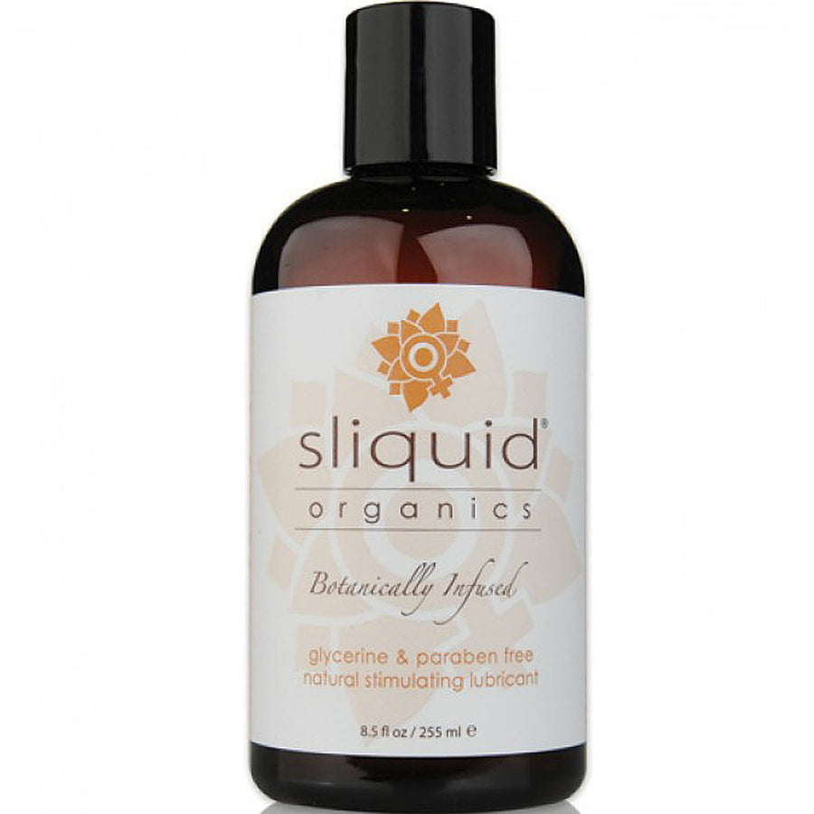 Sliquid Organics Natural Stimulating Lubricant 8.5oz - Godfather Adult Sex and Pleasure Toys