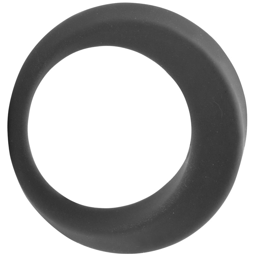 Penis Enhance Ornament Silicone Cock Ring 32mm - Grey - Godfather Adult Sex and Pleasure Toys