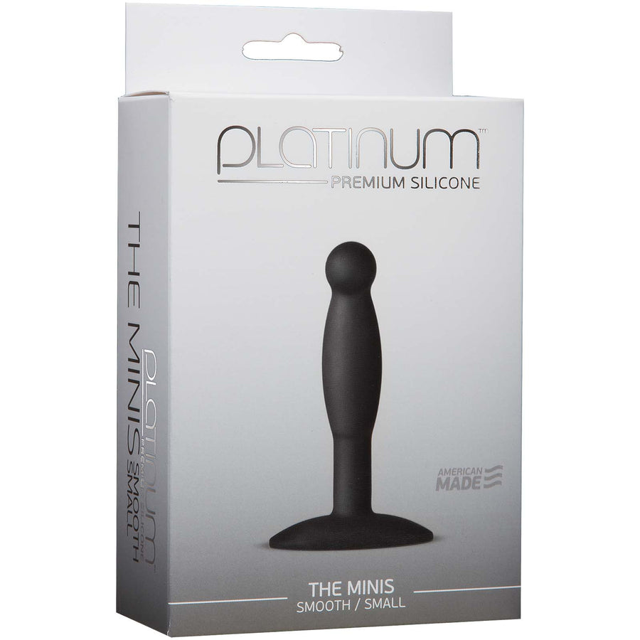 Platinum Premium Silicone - The Mini's - Smooth Small - Black
