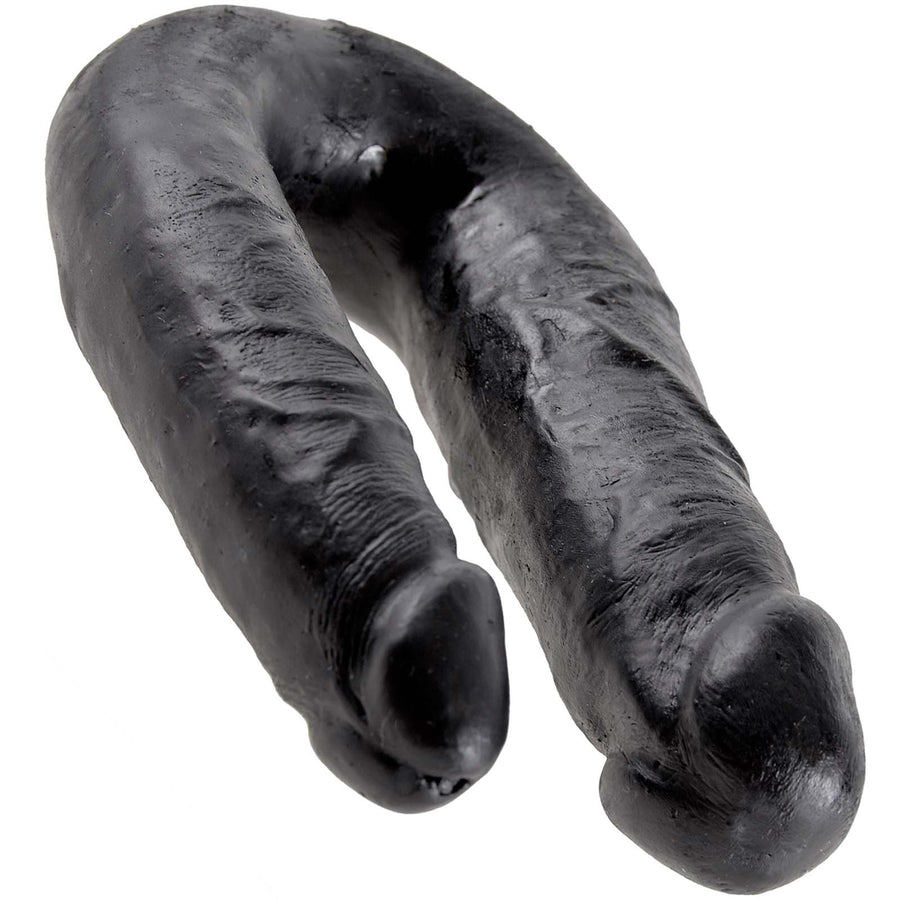 King Cock U-Shaped Medium Double Trouble - Black