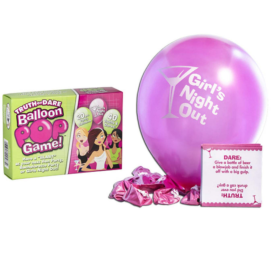 Truth or Dare Balloon Pop Game - Godfather Adult Sex and Pleasure Toys