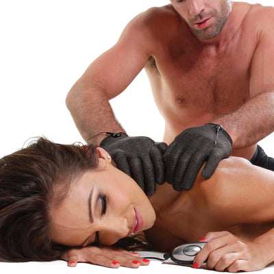 Fetish Fantasy Series Shock Therapy Luv Gloves - Godfather Adult Sex and Pleasure Toys