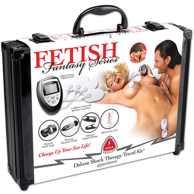 Fetish Fantasy Series Deluxe Shock Therapy Travel Kit - Godfather Adult Sex and Pleasure Toys