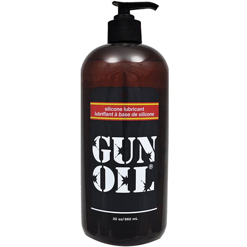 Gun Oil - 32oz - Godfather Adult Sex and Pleasure Toys