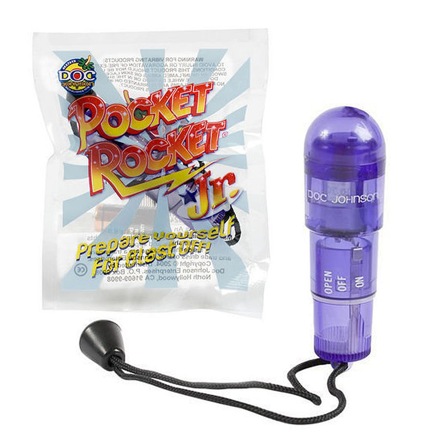 Pocket Rocket Jr. - Purple - Godfather Adult Sex and Pleasure Toys