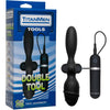 TitanMen - Double Tool - Black - Godfather Adult Sex and Pleasure Toys