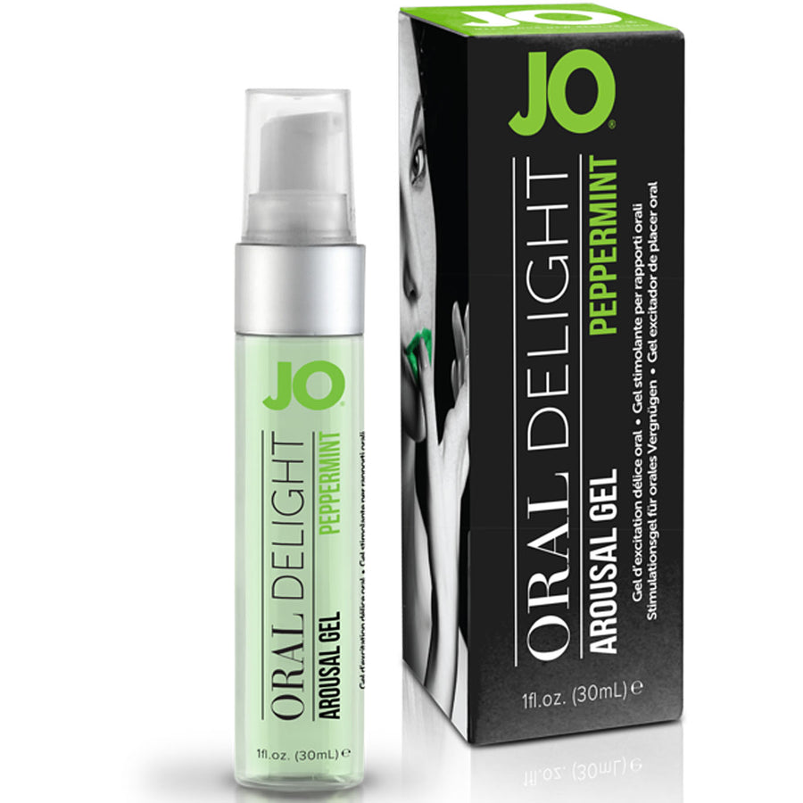 JO Oral Delight-Peppermint Pleasure 1oz