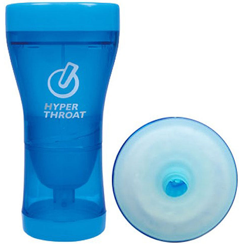 Hyper Throat - Blue - Godfather Adult Sex and Pleasure Toys