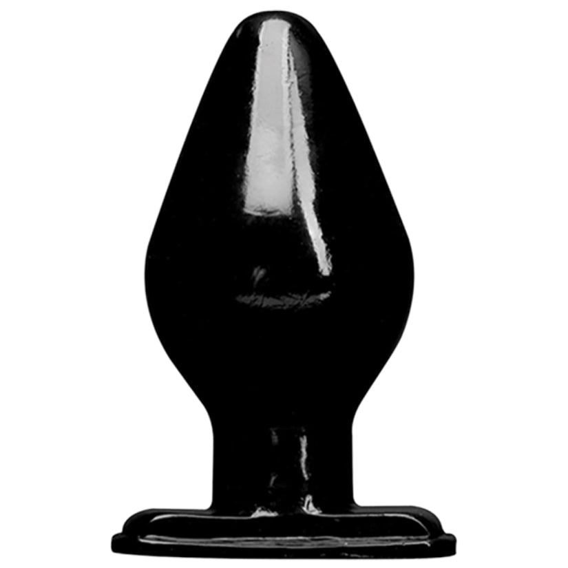 Wildfire Down & Dirty 5.5 Butt Plug - Black - Godfather Adult Sex and Pleasure Toys