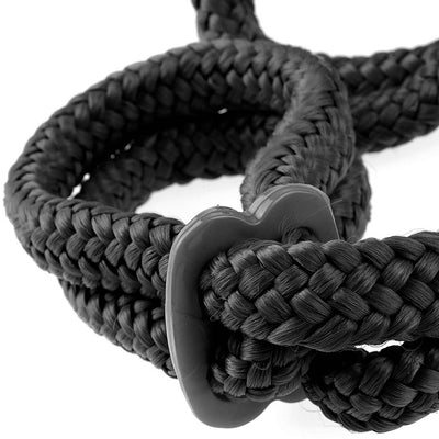 Fetish Fantasy Series Silk Rope Love Cuffs - Godfather Adult Sex and Pleasure Toys