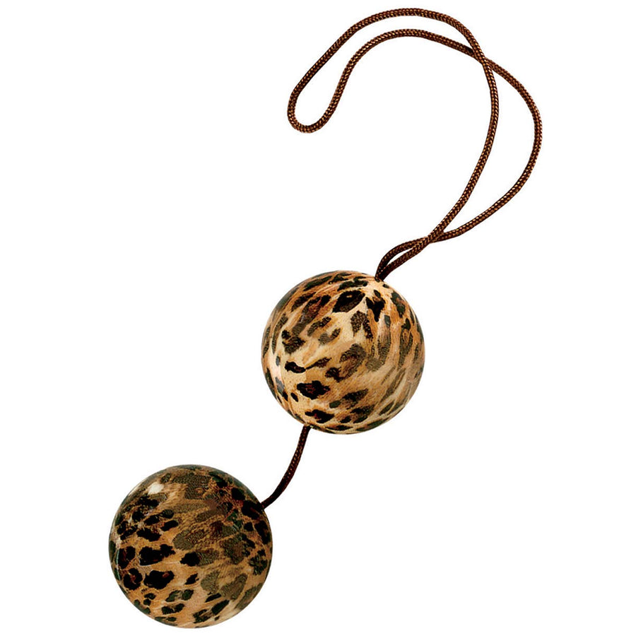 Leopard Duotone Balls - Godfather Adult Sex and Pleasure Toys