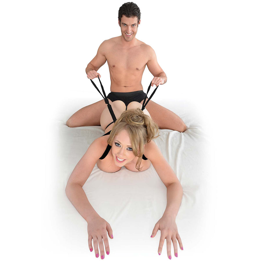 Fetish Fantasy Series Giddy Up Harness - Godfather Adult Sex and Pleasure Toys