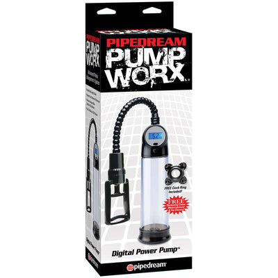 Pump Worx Digital Power Pump - Godfather Adult Sex and Pleasure Toys