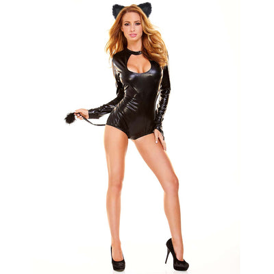 Hustler 2Pc Pussy Cat Costume - Godfather Adult Sex and Pleasure Toys