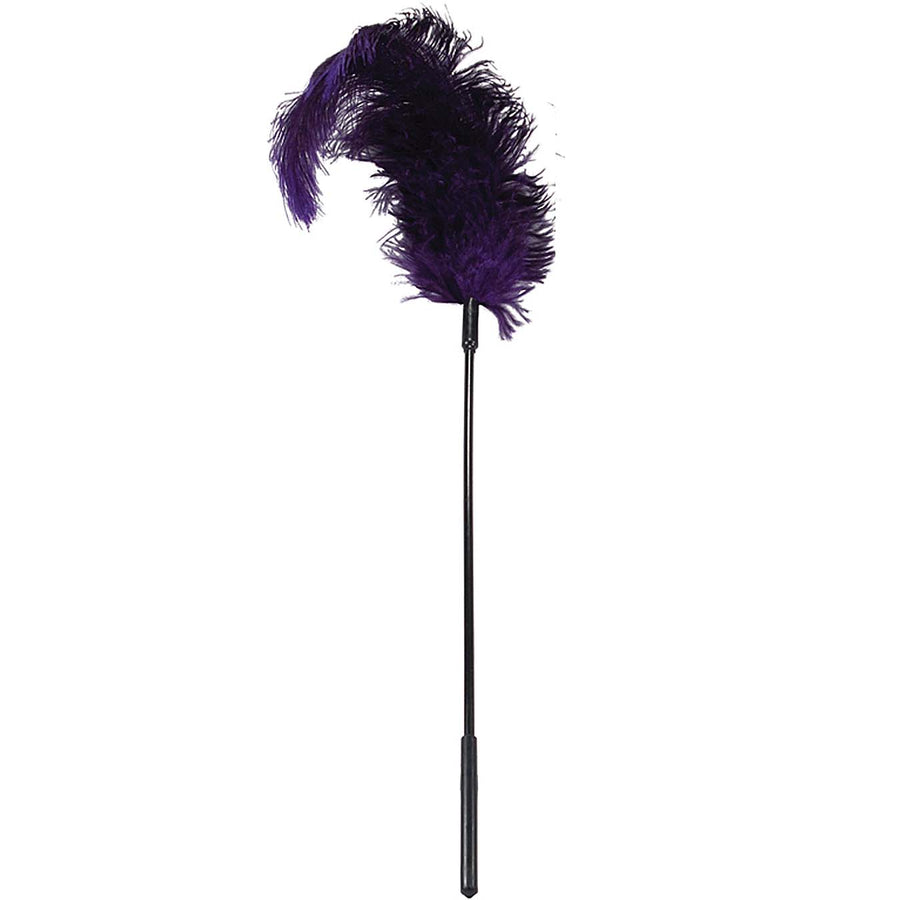 Sportsheets Ostrich Tickler-Purple