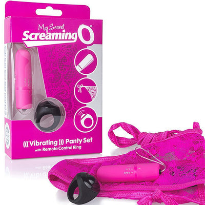 Screaming O My Secret Remote Control Panty Vibe-Pink - Godfather Adult Sex and Pleasure Toys