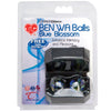 TLC CyberGlass Ben Wa Balls - Blue Blossom - Godfather Adult Sex and Pleasure Toys