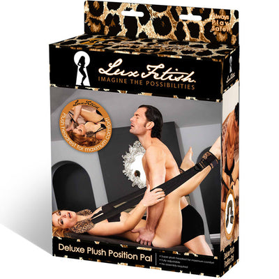 Deluxe Plush Position Pal-Leopard