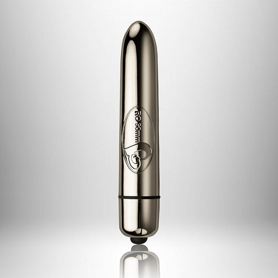 RO90mm 10 Speed-Chrome - Godfather Adult Sex and Pleasure Toys