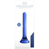 "Chrystalino Tower Blue 7"" - Godfather Adult Sex and Pleasure Toys"