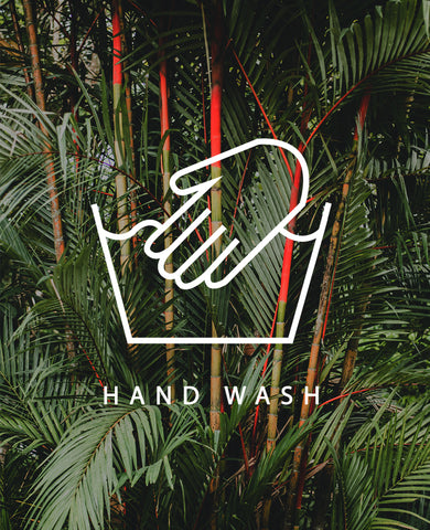 WASH BY HAND