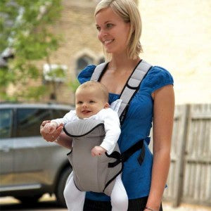 Front Facing in baby carriers