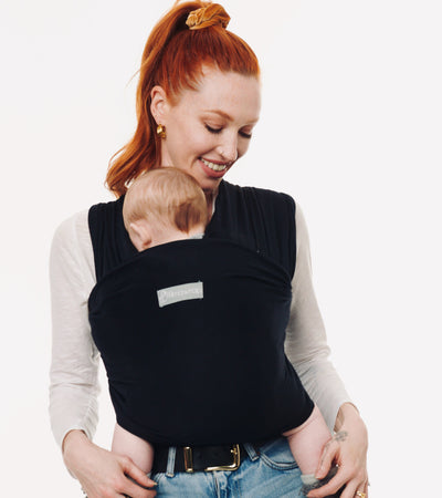 black baby sling#color_raven-black