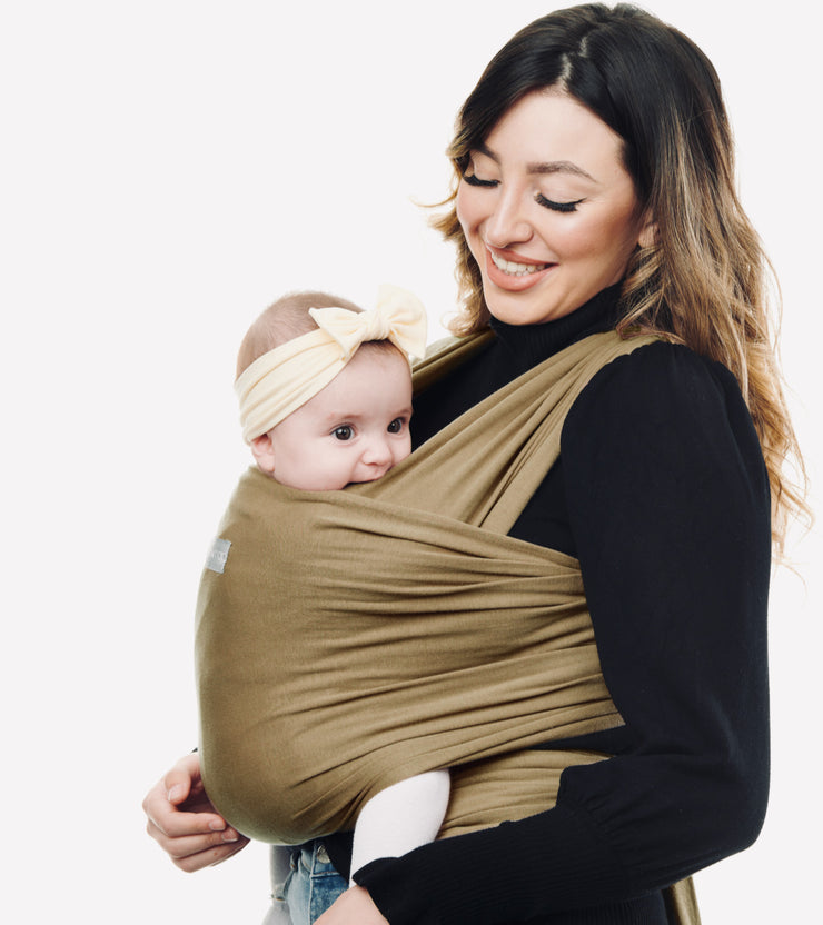 olive green baby sling