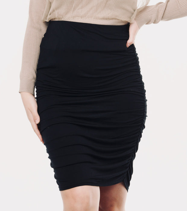 Black maternity skirt 1
