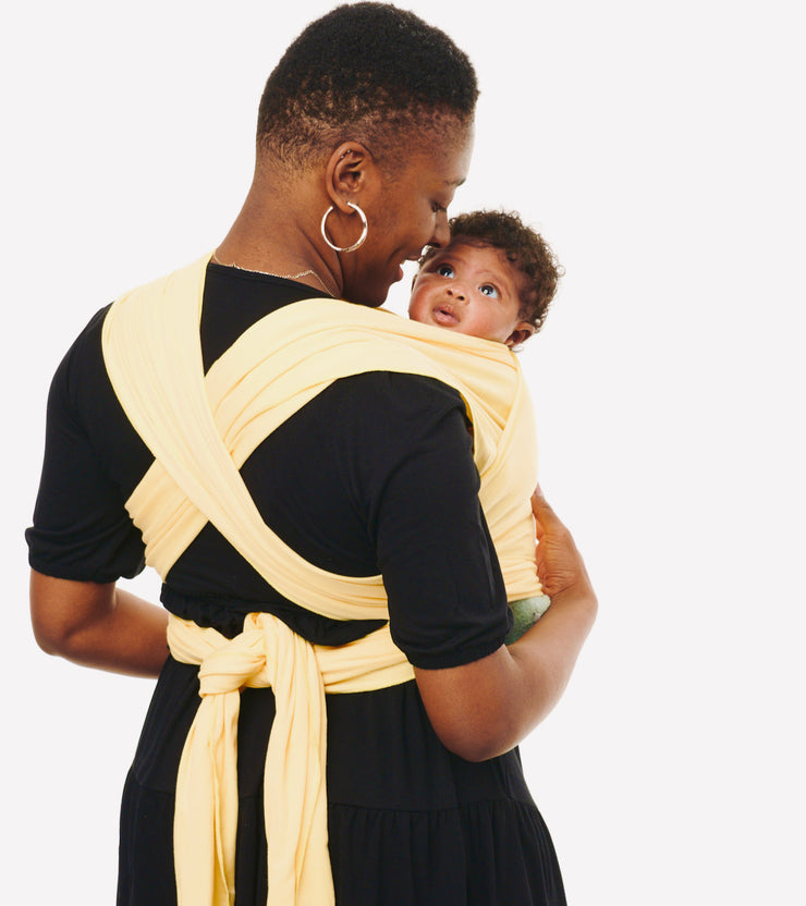 mellow yellow baby sling