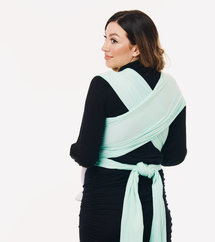 mint baby sling