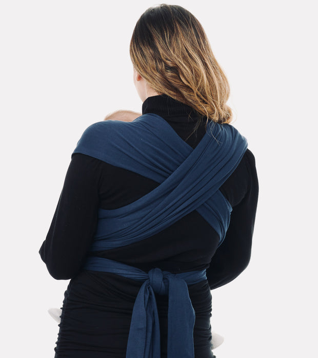 Navy Baby Sling Wrap Carrier 4