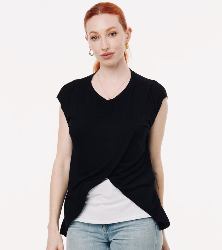 Black nursing tshirt