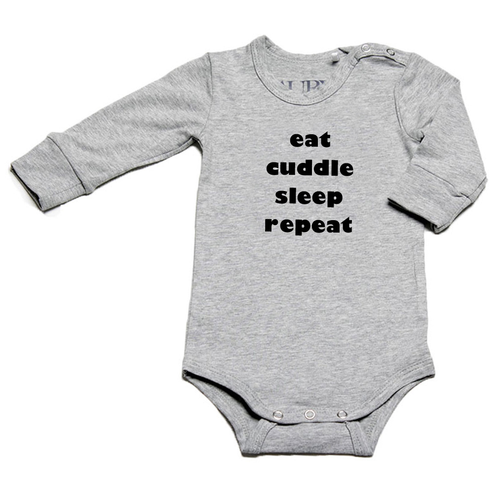 Auryn - Body grau eat cuddle sleep repeat verschiedene Farben - AURYN Shop