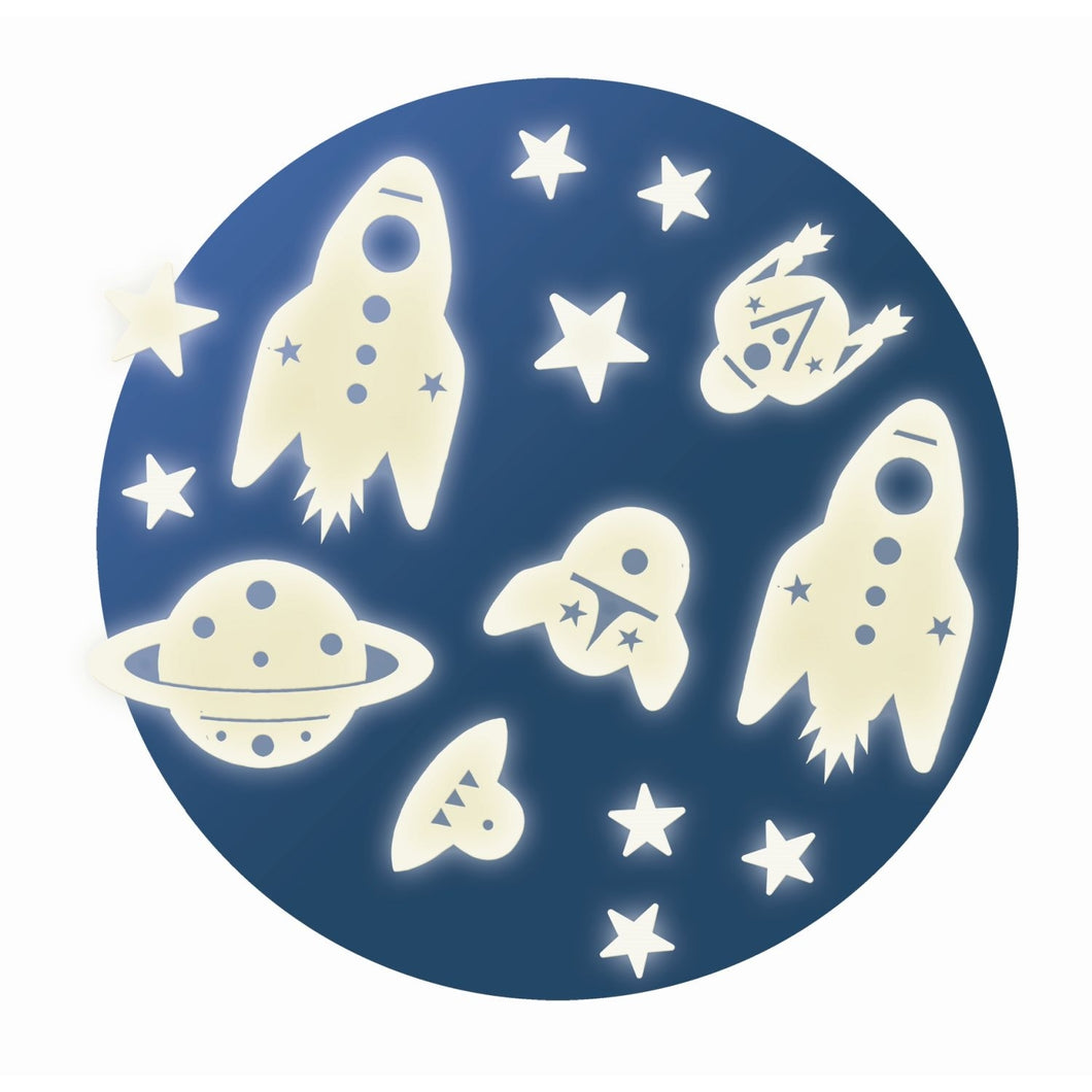 Djeco - Leuchtsticker: Space mission - AURYN Shop