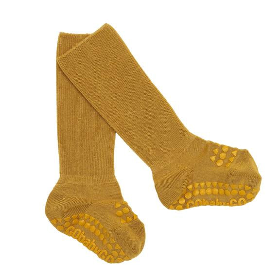 Go Baby Go - Bambus Stoppersocken curry - AURYN Shop