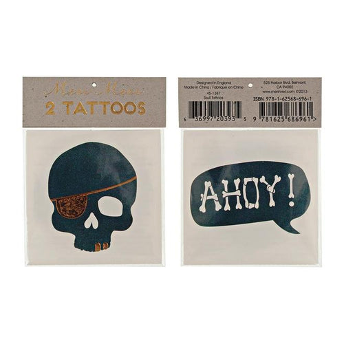 Meri Meri - Tattoos Piraten Ahoi - AURYN Shop