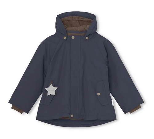 Mini a ture - Wally Kinderwinterjacke dunkelblau - AURYN Shop