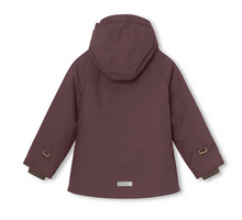 Mini a ture - Wally Kinderwinterjacke bordeaux - AURYN Shop