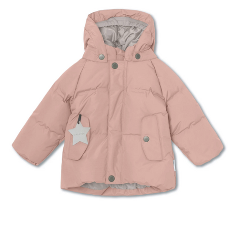 Mini a ture - Kinder Winterjacke Woody rosa - AURYN Shop