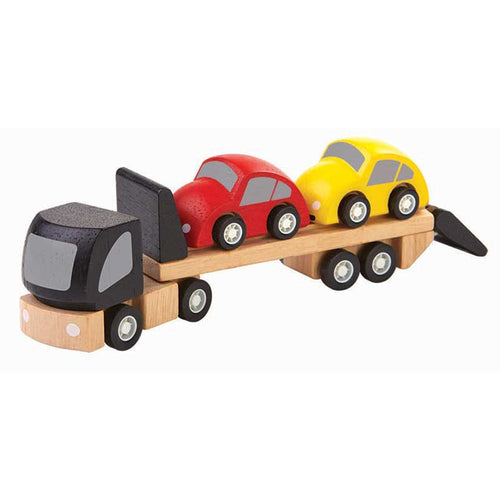 Plan Toys - Autotransporter aus Holz - AURYN Shop